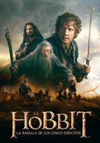 Cartel de la película El Hobbit: La Batalla de los Cinco Ejércitos