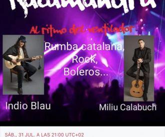 Indio Blau & Miliu Calabuch