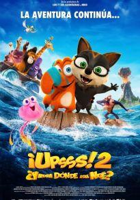 Cartel de la película ¡Upsss! ¿Ahora dónde está Noé?