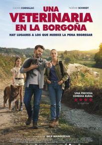 Cartel de la película Una veterinaria en la Borgoña