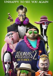 Cartel de la película La familia Addams 2: La gran escapada