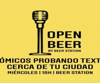 Open Beer, by Beer Station - Open Mic de stand-up comedy