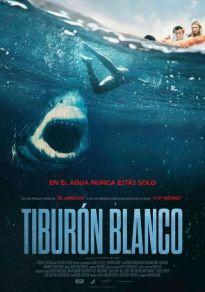 Cartel de la película Tiburón blanco