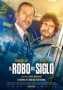 Cartel de la película El robo del siglo