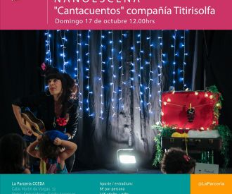 Cantacuentos compañía Titirisolfa