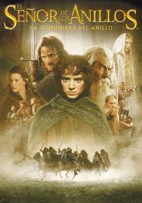Cartel de la película El señor de los anillos: La comunidad del anillo