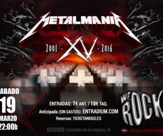 Metalmania tributo a METALLICA