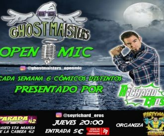 Ghostmaisters Open mic