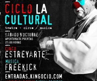 La Cultural Circo y Música presenta: Estreyarte