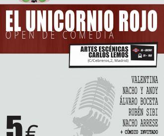 El Unicornio Rojo (Open de Comedia)