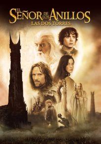 Cartel de la película El señor de los anillos: Las dos torres