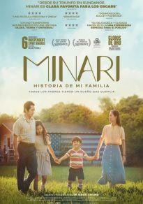 Cartel de la película Minari. Historia de mi familia