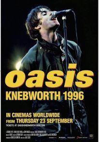 Cartel de la película Oasis Knebworth 1996