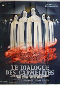 Cartel de la película Diálogos de Carmelitas