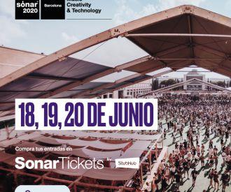 Entradas para Festival Sónar 2022