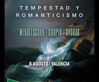 Tempestad y Romanticismo:Mendelssohn-Chopin-Dvorak
