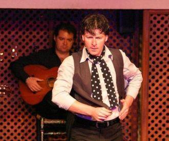 Espectáculo flamenco en el Patio Sevillano