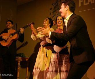 Espectáculo en el Centro Cultural Flamenco