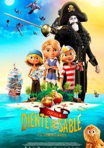 Cartel de la película Capitán Diente de Sable y el diamante mágico